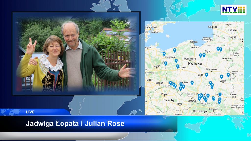 Wykorzystać szansę – Mapa Miejsc Samowystarczlności. Jadwiga Łopata i Julian Rose