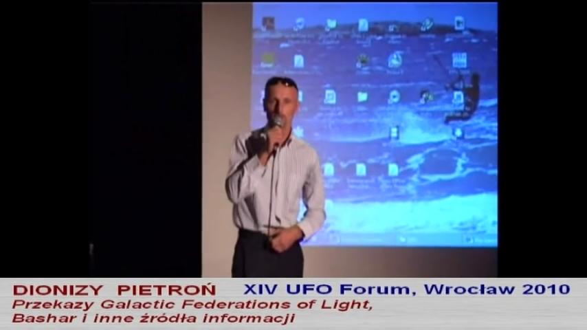 Dionizy Pietroń – XIV UFO Forum