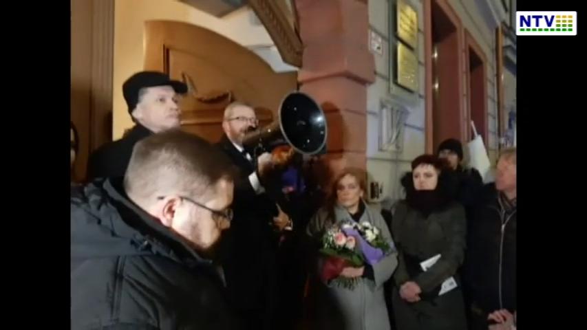 Wrocław – Pikieta w obronie dr Anny Martynowskiej – Dolnośląska izba lekarska