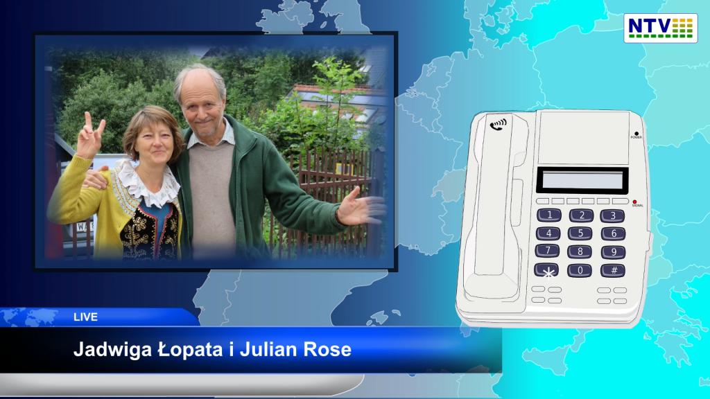 Przestań bać się życia i wyrzuć maskę – Julian Rose i Jadwiga Łopata