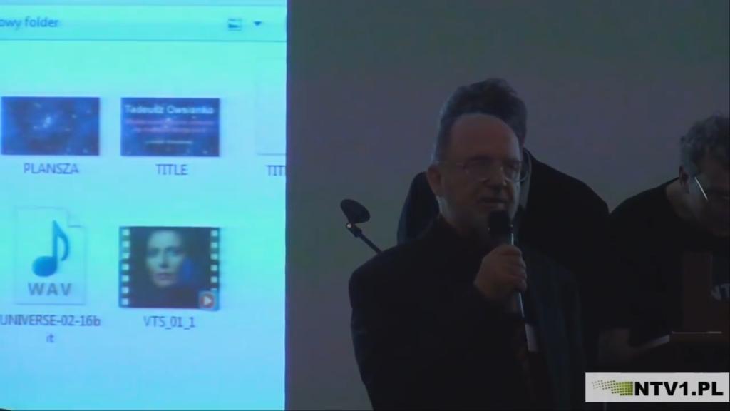 Spektakl dźwiękowy – X Tadeusz Owsianko – X Harmonia Kosmosu