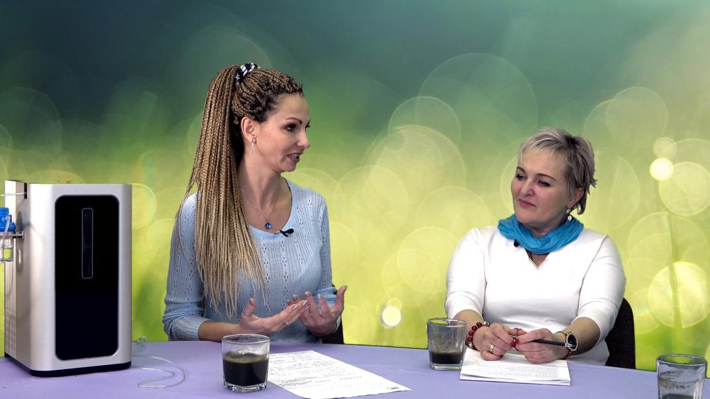 Tajemnica zielonej żywności i wodoru a nowotwory – Anna Mazurczyk i Danuta Dąbek