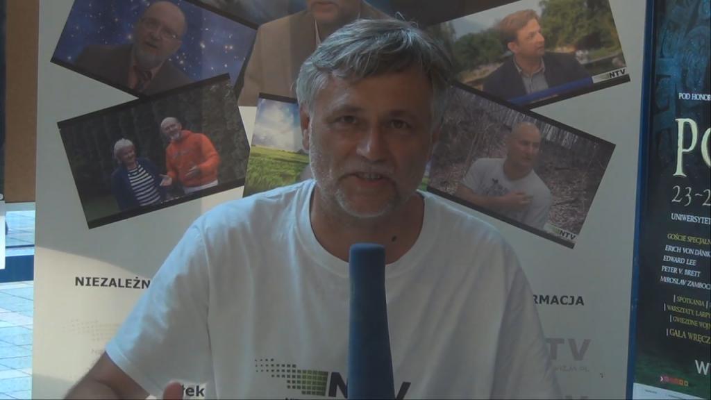 Wywiad z Erichem von Danikenem