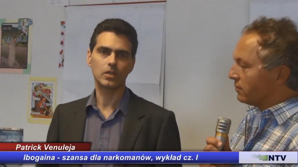 Ibogaina, szansa dla narkomanów, wykład cz. I – Patrick Venuleja