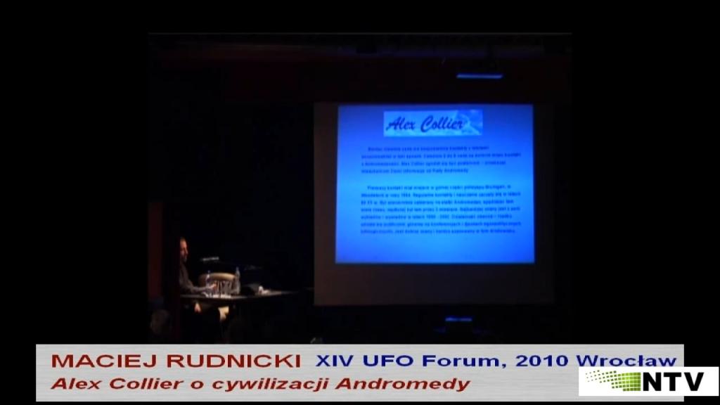 Maciej Rudnicki – XIV UFO Forum