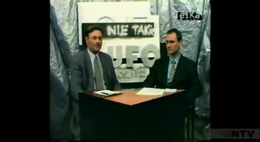 Nagranie archiwalne – Wojsko a UFO – Paweł Czuchnowski