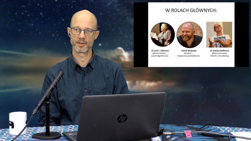 Nowy paradygmat wypraw w głąb świadomości z DMTx – dr Krzysztof Kolecki