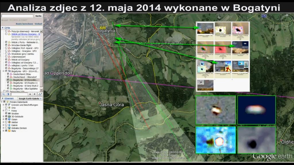 Analiza zdjec z UFO z Bogatyni  – Waldek Czarnetzki
