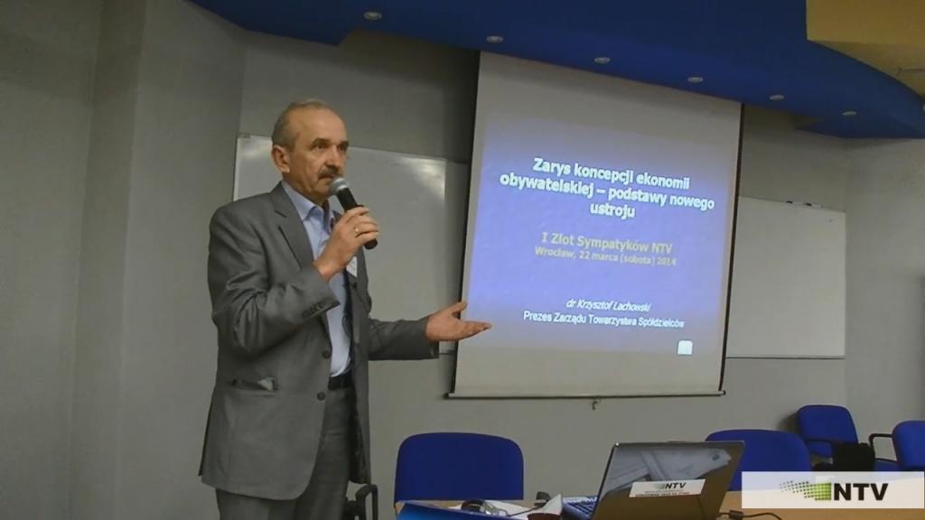 I Zlot Sympatyków NTV – dr Krzysztof Lachowski