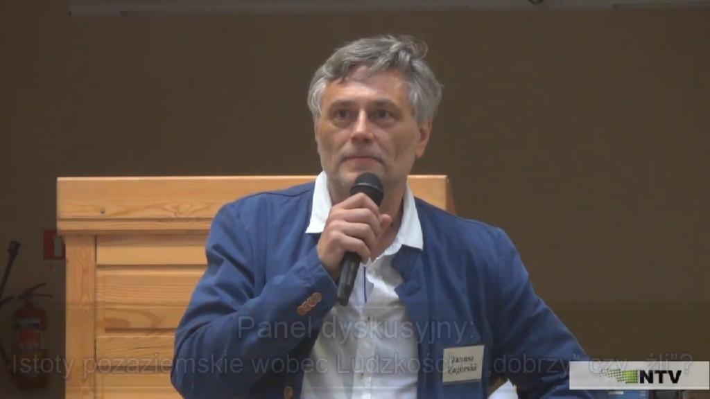 Istoty pozaziemskie wobec ludzkości – panel dyskusyjny
