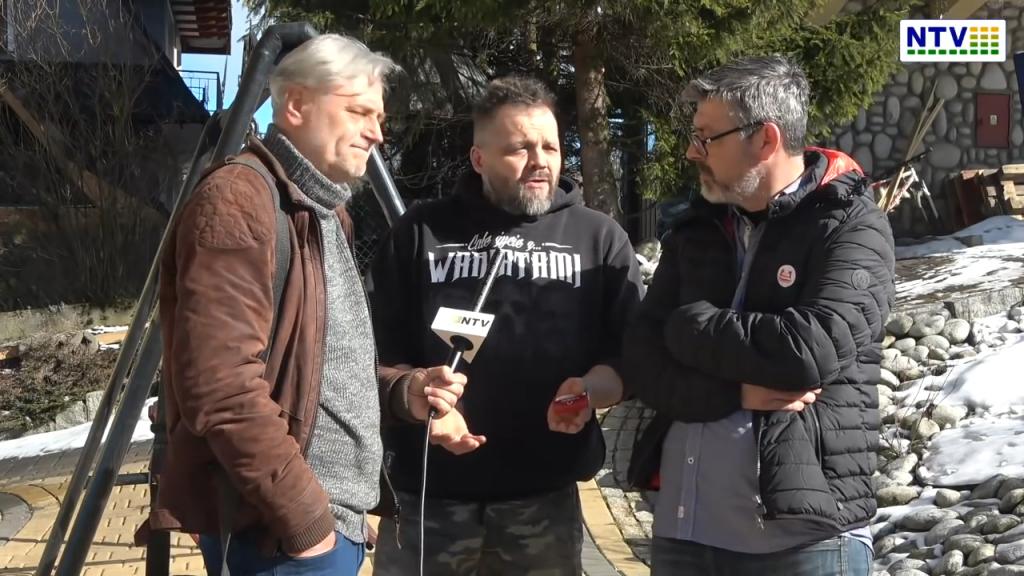 Podhalańscy przedsiębiorcy bronią swoich biznesów i rodzin – wideo z Zakopanego
