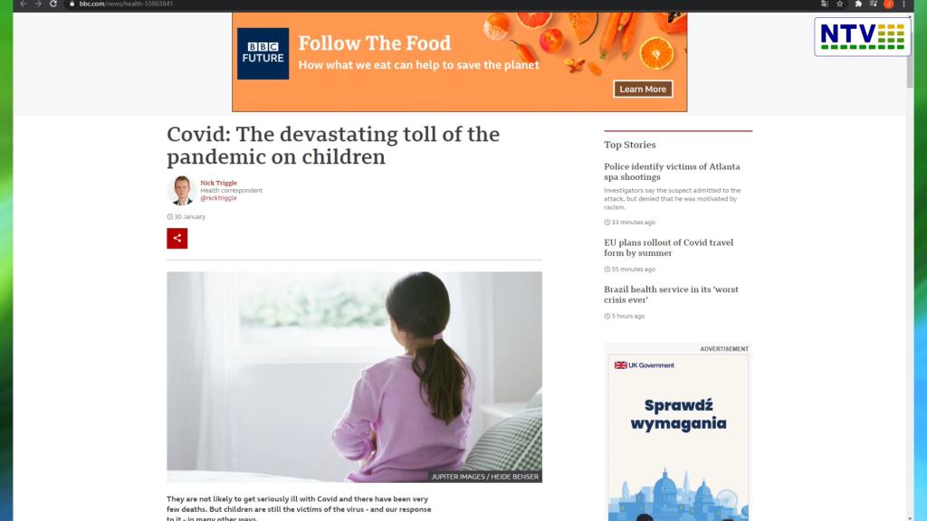 """Francja, UK, RFN: """"GLOBALNY WZROST PROBLEMÓW ZE ZDROWIEM PSYCHICZNYM DZIECI z powodu sytuacji COVID19"""". – Wzrost samobójstw. """"- Dzieci na prawdę nie chcą już żyć"""""""