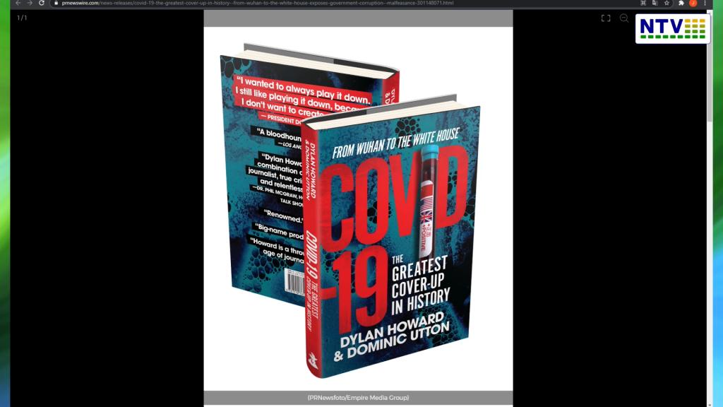 """Książka """"COVID-19: """"Największy cover-up w historii – od Wuhan do Białego Domu"""" """"ujawnia korupcję rządu i nadużycia"""".  """"Czy covid ukryta przykrywka dla korupcji""""?:"""