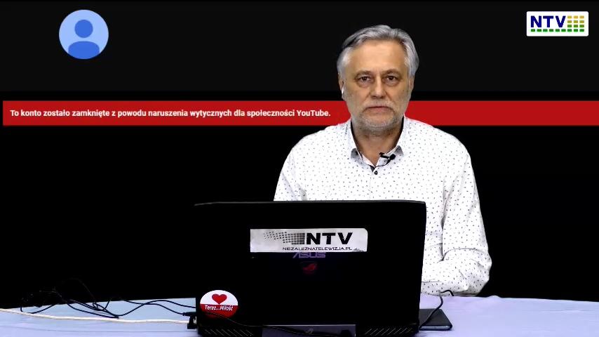 Wielka cenzura. Zlikwidowali NTV na Youtube. Bezpodstawne niszczenie własności i wolności słowa