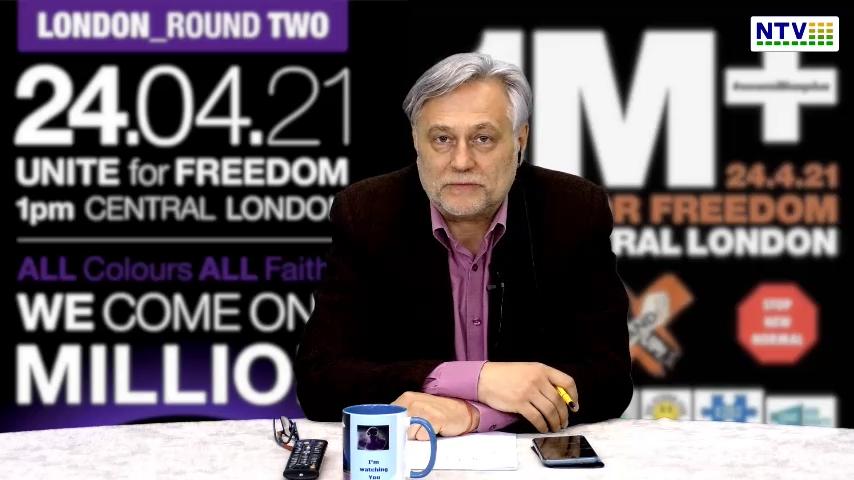 24 Kwiecień – Zapowiedź protestów w Wielkiej Brytanii – My albo oni