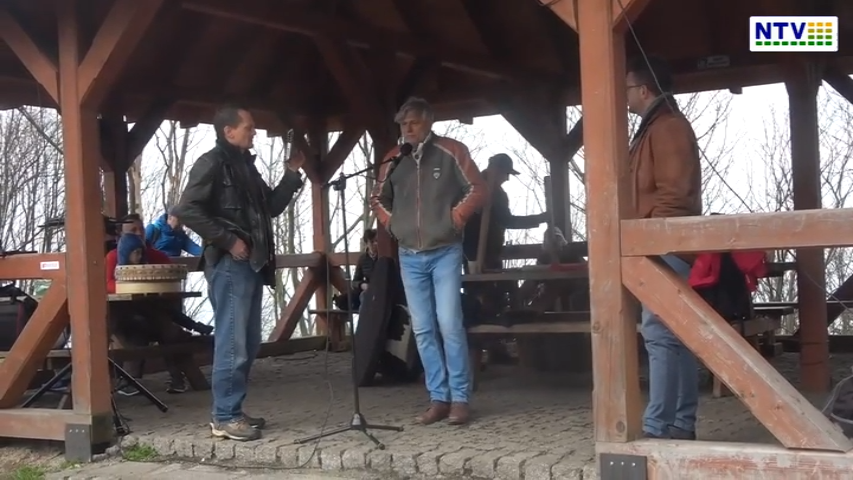 Wyjście Wolnych Ludzi na szczyt Ślęży – 1 maja – Zapis video