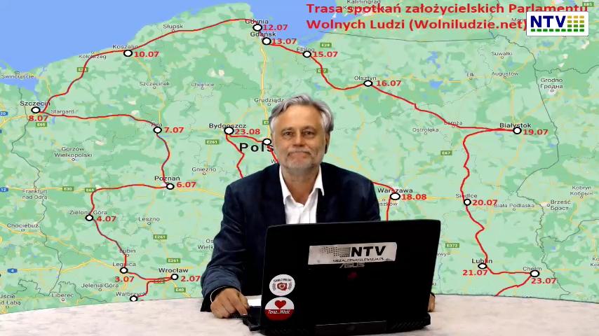 Cyfryzujemy polską demokracje tworzymy E-Parlament Wolnych Ludzi  cykl spotkań z sympatykami NTV