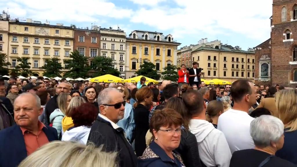 Krakowski spacer wolności 13.06.2021