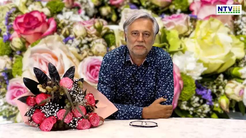 Bukiet kwiatów dedykowany wszystkim kobietom uczestniczącym w zlocie Wolnych Ludzi – Harmonii Kosmosu 2021