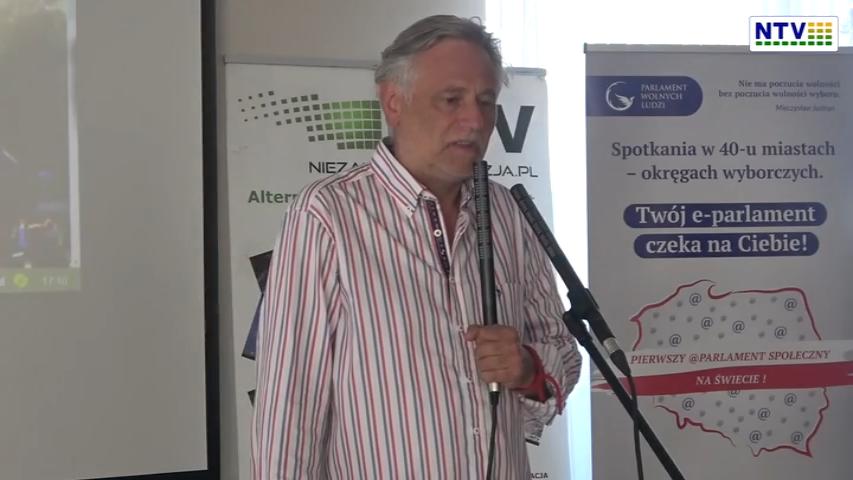 Gdańsk – 13.07.2021 – Spotkanie założycielskie e-parlamentu Wolnych Ludzi