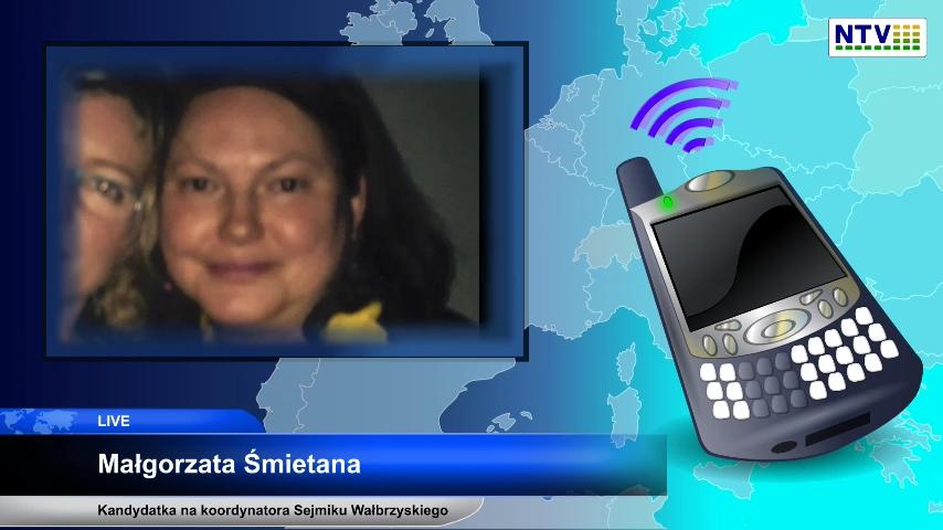 Pierwsze glosowanie w e-parlamencie RWL – Przedstawiamy kandydatów na koordynatora Sejmiku Wałbrzyskiego – Małgorzata Śmietana
