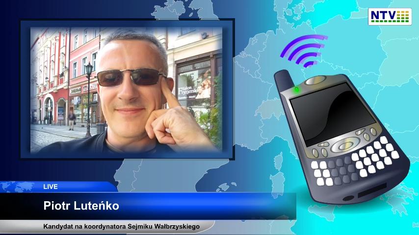 Pierwsze glosowanie w e-parlamencie RWL – Przedstawiamy kandydatów na koordynatora Sejmiku Wałbrzyskiego – Piotr Luteńko