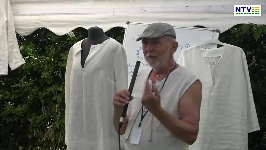 Andrzej Kulesza  – Dlaczego naturalny len i konopie – Harmonia Kosmosu 2021