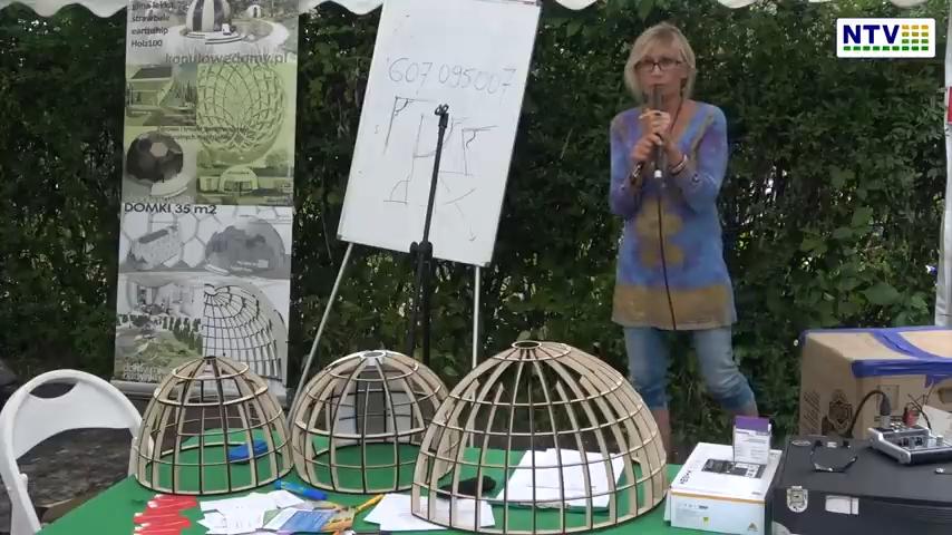 Barbara Wojtkowska – Fraktalne ekowioski, ziemianki i domy kopułowe – Harmonia Kosmosu 2021