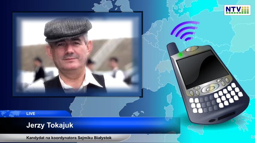 Kandydat na koordynatora sejmiku Białystok – Jerzy Tokajuk