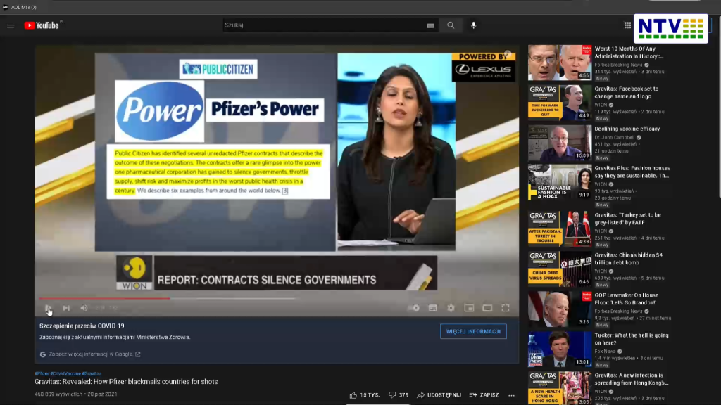 TV w Indiach – Pfizer szantażuje rządy