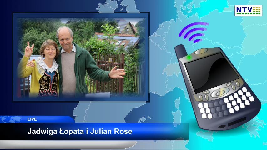Wojna z ludzkim DNA –  Jadwiga Łopata i Julian Rose